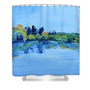 Pine Meadow Lake, 2017 Shower Curtain