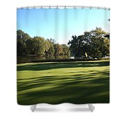 Pine Ridge Golf - Beautiful 14th Par 3 Shower Curtain