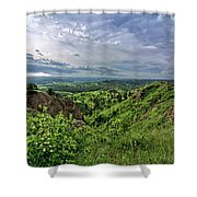 Pine Ridge Nebraska Shower Curtain
