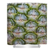 Pineapple Close-up Shower Curtain