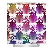 Pineapple Repeat Shower Curtain