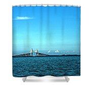 Pinellas Sunshine Shower Curtain