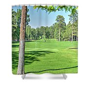 Pinetop Country Club - Hole #18 - Photos Shower Curtain