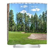 Pinetop Country Club Photos Shower Curtain
