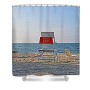 Piney Point Beach Shower Curtain
