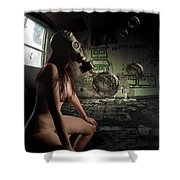 Pining For Lost Innocence Shower Curtain