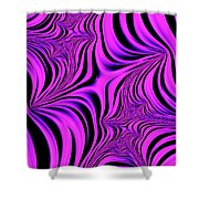 Pink Abyss Shower Curtain