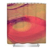 Pink Ambrelia Shower Curtain