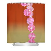 Pink And Sassy Shower Curtain