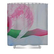 Pink Angel Of Unconditional Love Shower Curtain