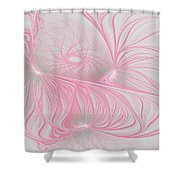 Pink Anyone Shower Curtain