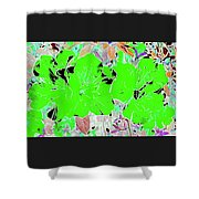 Pink Bevy Of Beauties On A Sunny Day Color Invert Shower Curtain