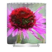 Pink Bezels Shower Curtain