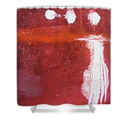Pink Body Shower Curtain