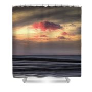 Pink Cloud Shower Curtain