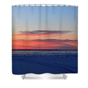 Pink Clouds Before Sunrise Two  Shower Curtain