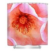 Pink Devotion Shower Curtain