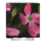Pink Dogwoods Shower Curtain