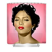 Pink Dorothy Shower Curtain