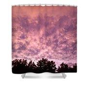 Pink Dusk Shower Curtain
