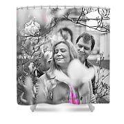 Pink Enchantment  Shower Curtain