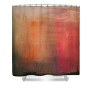 Pink Falls Shower Curtain