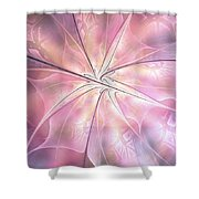Pink Feeling Shower Curtain