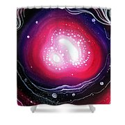 Pink Flash Of Energy. Sweet Dreams. Astral Vision Shower Curtain