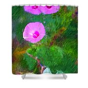 Pink Flowers 102310 Shower Curtain