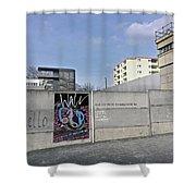 Pink Floyd, Berlin, Tour 1990 Shower Curtain
