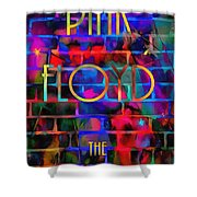 Pink Floyd The Wall Shower Curtain