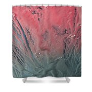 Pink Froth Shower Curtain