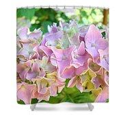 Pink Hydrangea Flower Garden Art Prints Baslee Troutman Shower Curtain