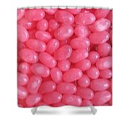 Pink Jelly Beans Shower Curtain