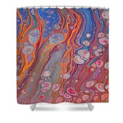 Pink Jelly Fish Shower Curtain