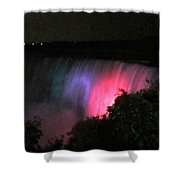 Pink Niagara Shower Curtain