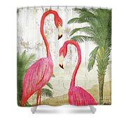 Pink Paradise Shower Curtain