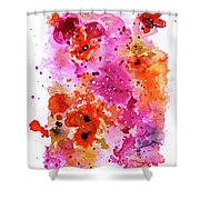 Pink Reef Shower Curtain