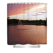 Pink Reflections Shower Curtain