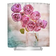 Pink Roses Beauty Shower Curtain