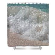 Pink Sand Beaches Shower Curtain