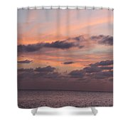 Pink Sky Shower Curtain