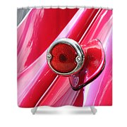 Pink Tail Shower Curtain