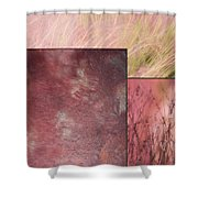 Pink Textures 2 Shower Curtain