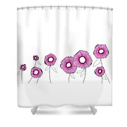 Pink Up Shower Curtain