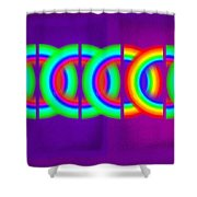 Pink Violet Shower Curtain