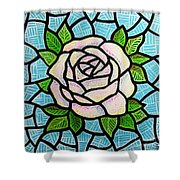 Pinkish Rose Shower Curtain