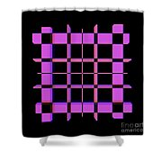 Pinky Thing Shower Curtain