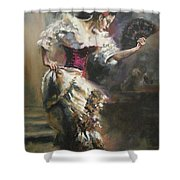 Pino D'angelico's The Dancer Shower Curtain