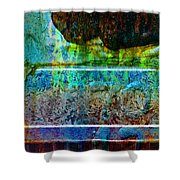 piNsky Shower Curtain
